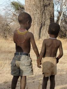 Hazda boys, Tanzania (Photo: Coren Apicella)
